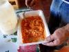 Jorge preparing kinkin food