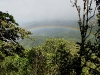 Rainbow over cloud forest