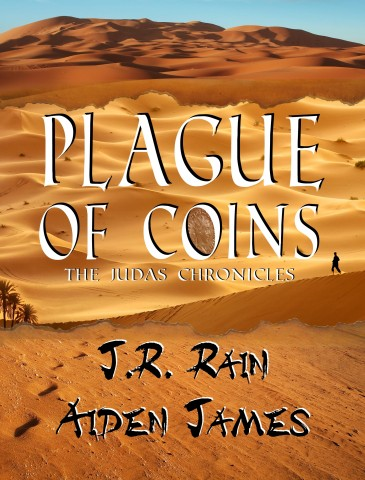 Cover PLAGUE OF COINS, J.R. Rain